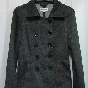 sm Blazer coat-  sweatshirt material